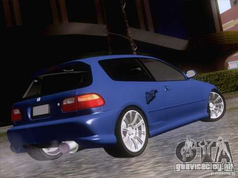 Honda Civic IV GTI для GTA San Andreas вид слева