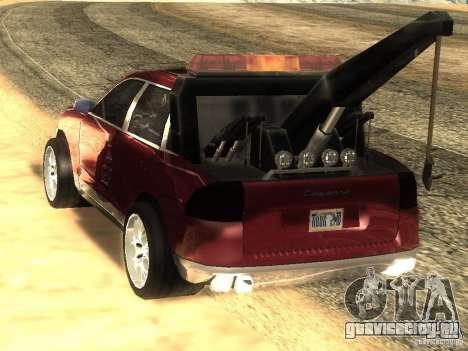 Porsche Cayenne Towtruck для GTA San Andreas вид слева