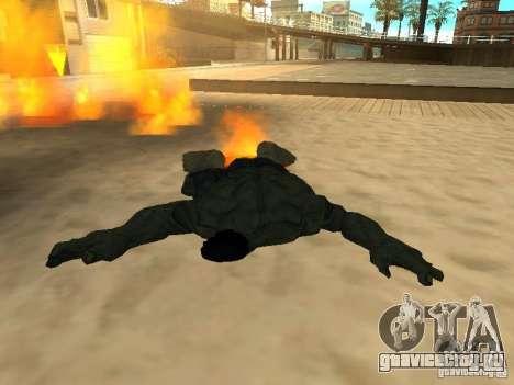 Hulk Skin для GTA San Andreas четвёртый скриншот