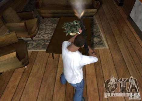 HK 416 для GTA San Andreas третий скриншот