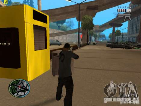 GTA IV  San andreas BETA для GTA San Andreas третий скриншот