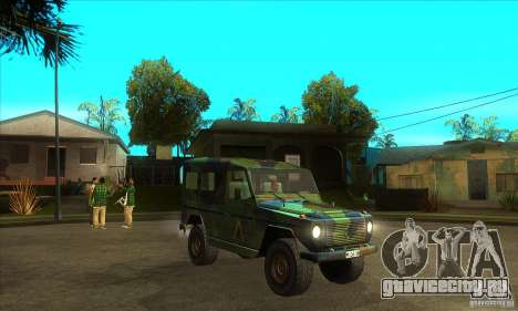 Mercedes Wolf для GTA San Andreas вид сзади