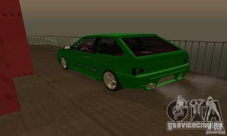 ВАЗ 2113 ADT Art Tuning для GTA San Andreas вид сбоку