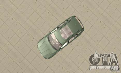 BMW X3 2.5i 2003 для GTA San Andreas вид справа