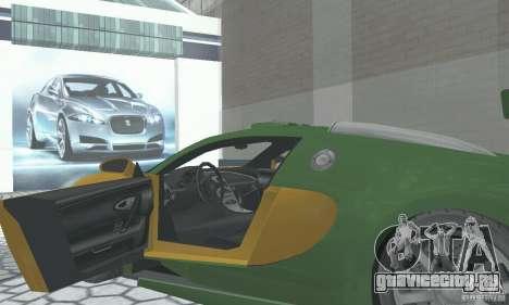 Bugatti Veyron 2005 для GTA San Andreas вид сзади