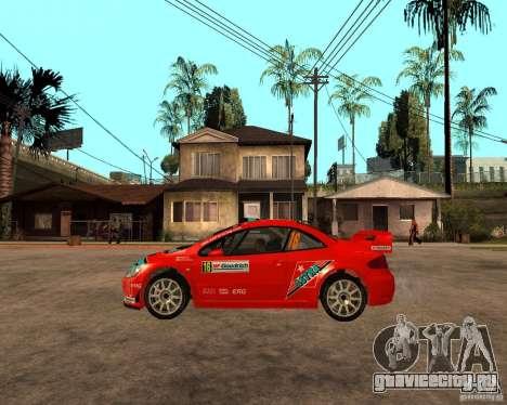 Peugeot 307 WRC для GTA San Andreas вид слева