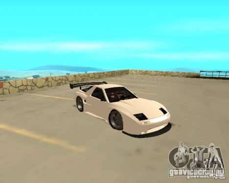 Mazda RX-7 FC - MadMike: Version.2 для GTA San Andreas вид сзади слева