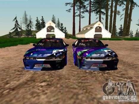 Nissan Sil80 Nate Hamilton для GTA San Andreas вид снизу