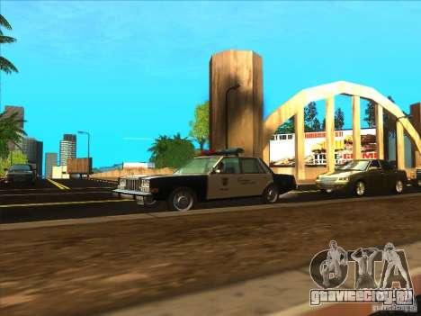 Dodge Diplomat 1985 LAPD Police для GTA San Andreas вид справа