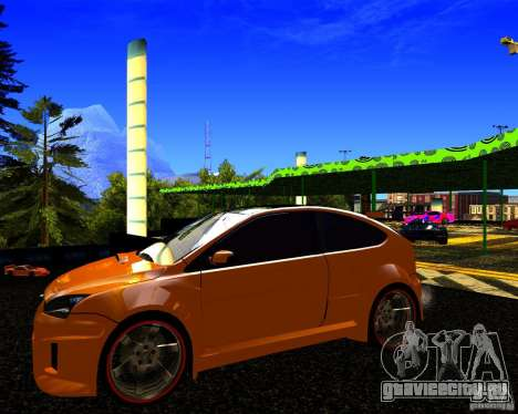 Ford Focus ST Racing Edition для GTA San Andreas