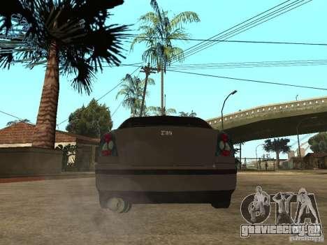 Skoda Octavia Custom Tuning для GTA San Andreas вид сзади слева