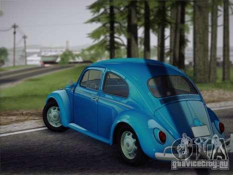 Volkswagen Beetle 1967 V.1 для GTA San Andreas вид справа