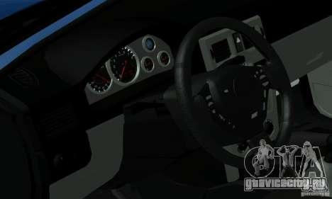 Lada Priora 2012 для GTA San Andreas вид сзади