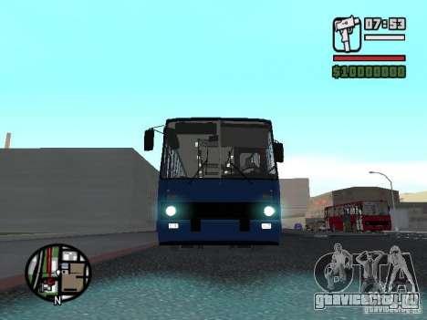 Ikarus 260.51 для GTA San Andreas вид слева