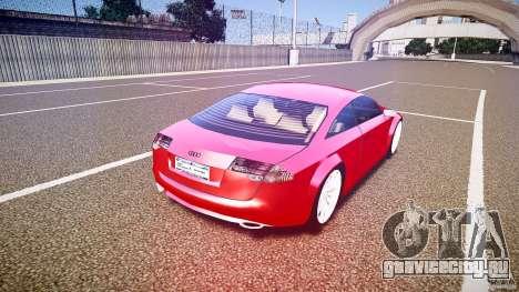 Audi Nuvollari Quattro для GTA 4 вид сверху
