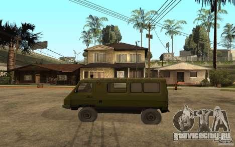 Уаз 3972 для GTA San Andreas вид слева