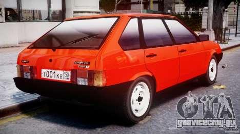 ВАЗ-21093i для GTA 4 двигатель