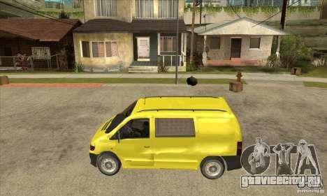 Mercedes-Benz Vito 112CDI для GTA San Andreas вид слева