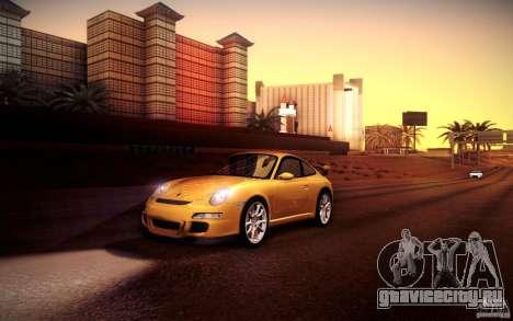 Porsche 911 GT3 (997) 2007 для GTA San Andreas салон