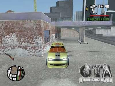 ОКА 1111 (Тюнинг) для GTA San Andreas вид изнутри