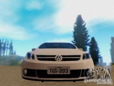Volkswagen Voyage G5 Roda Passat CC для GTA San Andreas вид сзади слева