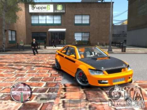 Sultan RS HD FreeStyle Team для GTA 4