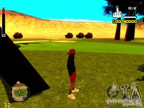 Skin бомжа v1 для GTA San Andreas второй скриншот