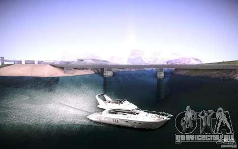 Yach by Tatui@tret для GTA San Andreas вид справа