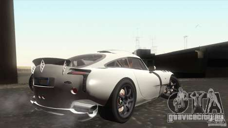 TVR Sagaris 2005 V1.0 для GTA San Andreas вид сзади