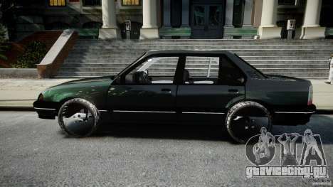 Chevrolet Monza GLS 96 для GTA 4 вид слева
