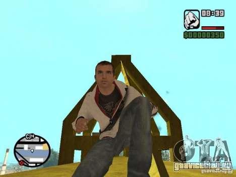 Desmond Miles для GTA San Andreas седьмой скриншот