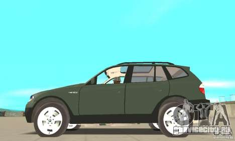 BMW X3 2.5i 2003 для GTA San Andreas вид слева