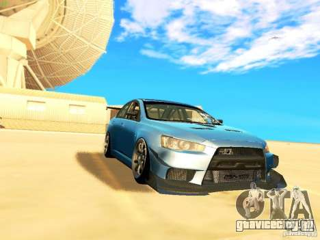 Mitsubishi Lancer Evolution X Time Attack для GTA San Andreas