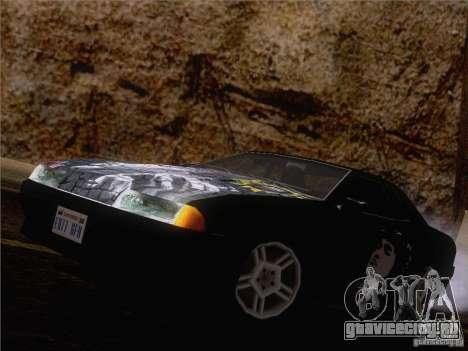 Винил Виктор Цой для GTA San Andreas вид сзади