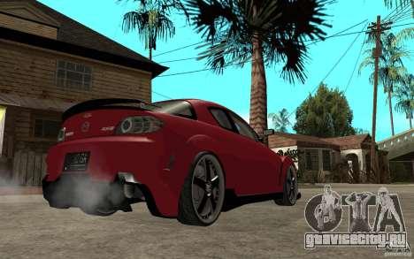 Mazda RX-8 Time Attack JDM для GTA San Andreas вид справа