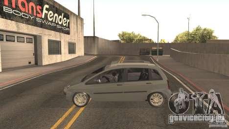 Fiat Idea HLX для GTA San Andreas вид справа