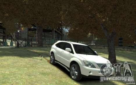 Lexus RX 400h для GTA 4 вид изнутри