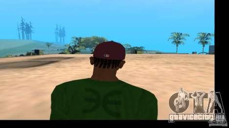 Кепка с логотипом группы HIM для GTA San Andreas пятый скриншот