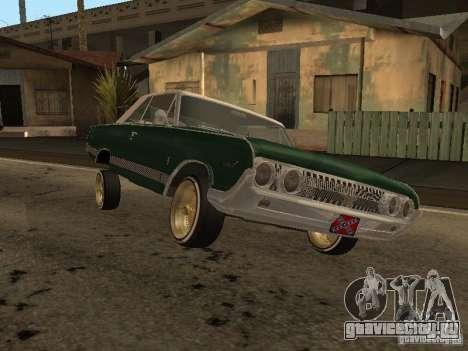 Mercury Park Lane Lowrider для GTA San Andreas вид сзади слева