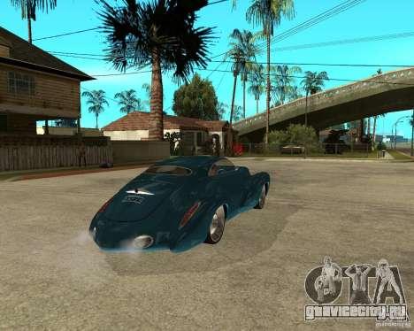 Holden Efijy для GTA San Andreas вид сзади слева