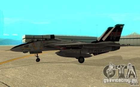 F-14A Screaming Eagles VF-51 для GTA San Andreas вид сзади слева