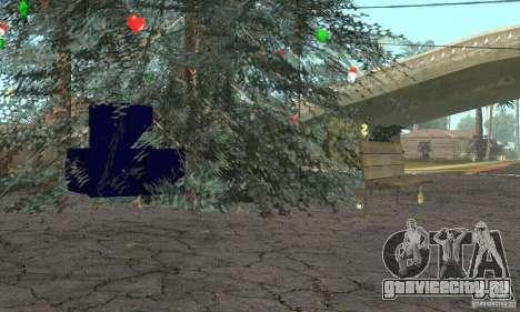 Новогодняя ёлка для GTA San Andreas третий скриншот