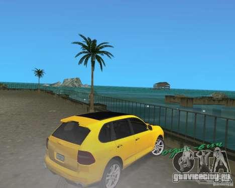 2009 Porsche Cayenne Turbo для GTA Vice City вид справа