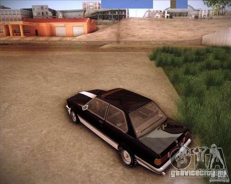 BMW E21 для GTA San Andreas вид сзади слева