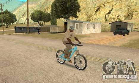 Dirt Jump Bike для GTA San Andreas вид сзади