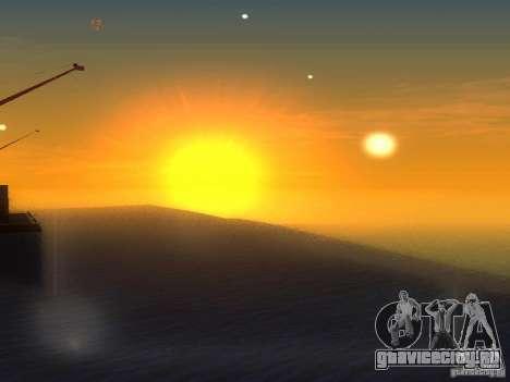 HQ Вода для GTA San Andreas третий скриншот