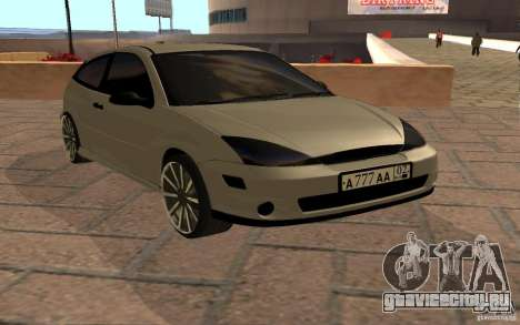 Ford Focus Light Tuning для GTA San Andreas вид слева