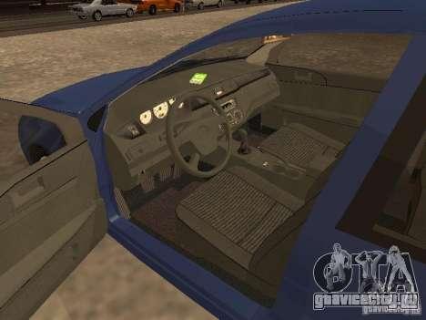 Mitsubishi Lancer 1.6 для GTA San Andreas вид сзади слева
