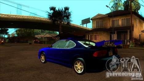 Oldsmobile Alero 2003 для GTA San Andreas двигатель