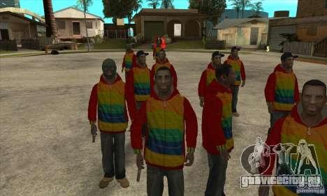 Райдер - Плейбой Х для GTA San Andreas третий скриншот